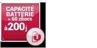 DEFME - Nos packs : défibrillateur HeartSine / caractéristiques : capacité de la batterie