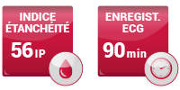 DEFME - Nos packs : défibrillateur HeartSine / caractéristiques : étanchéité et ECG