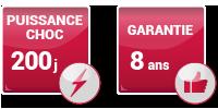 DEFME - Nos packs : défibrillateur HeartSine / caractéristiques : puissance choc et garantie