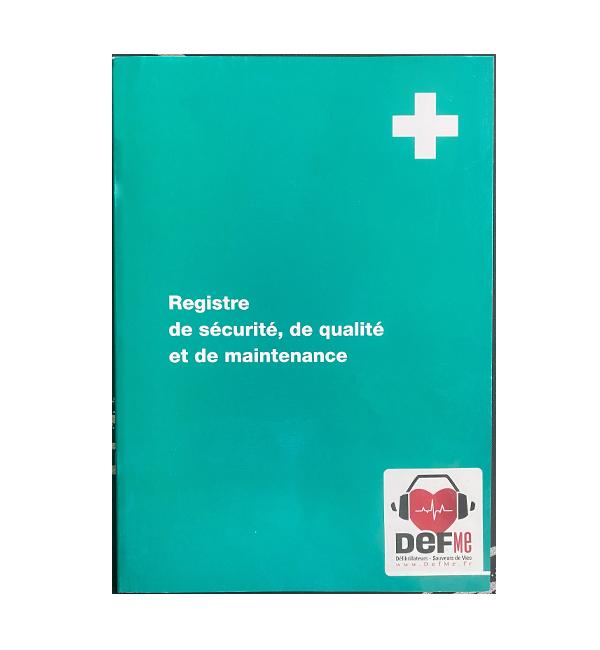 DEFME - Nos packs : registre de maintenance